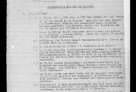 Упоминание о деревне Ильжо в немецких документах времен войны